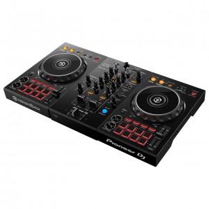 Controlador DJ 2 Canales Pioneer DJ DDJ-400 angle