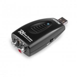 Interface Audio por USB Power Dynamics PDX20 angle