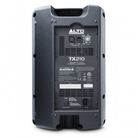 Altavoz Activo Full-Range Alto Professional TX210 rear