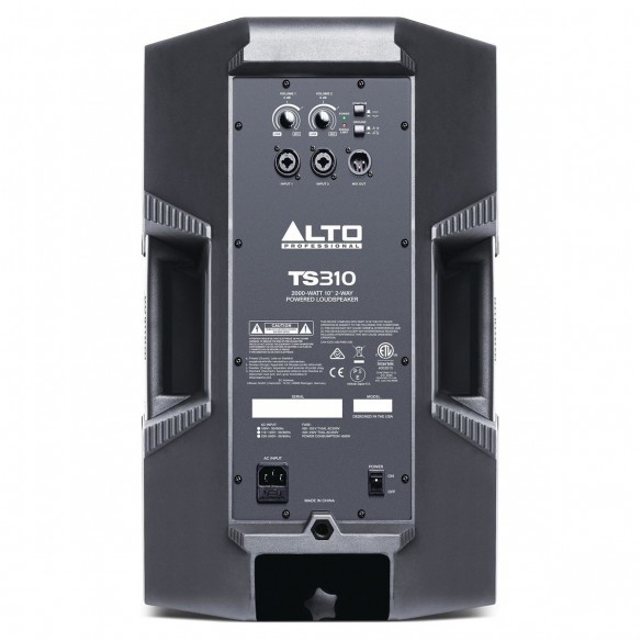 Altavoz Activo Full-Range Alto Professional TS310 rear