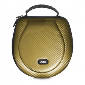 Estuche Auriculares DJ UDG Creator Headphone Case Large PU (Gold) top