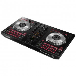 Controlador DJ 2 Canales Pioneer DJ DDJ-SB3 angle