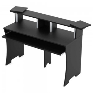 Complemento Estudio Mueble Glorious Workbench Black angle