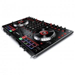 Mezclador-Controlador DJ 4 Canales Numark NS6II angle