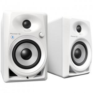 Monitores de Estudio Activos Pioneer DJ DM-40BT-W Bluetooth angle