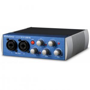 Interface Audio por USB Presonus AudioBox USB 96 angle