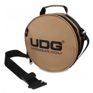 Bolsa Auriculares DJ UDG Ultimate DIGI Headphone Bag (Gold) angle