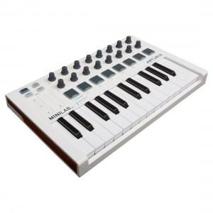 Teclado Controlador MIDI USB 25 Teclas Arturia MiniLab MkII angle
