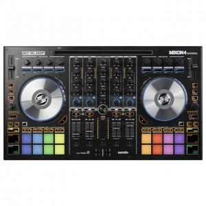 Controlador DJ Híbrido 4 Canales Reloop Mixon 4 top