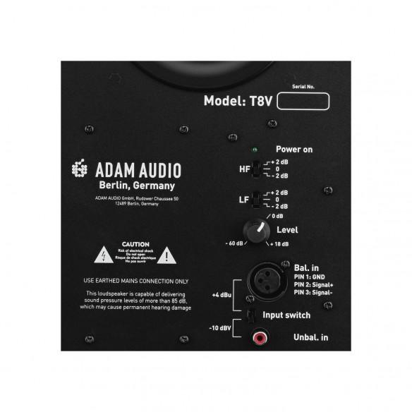Monitor de Estudio Activo ADAM T8V rear-panel