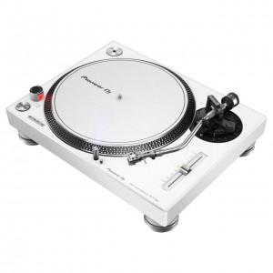 Plato Giradiscos Tracción Directa Pioneer DJ PLX-500-W angle