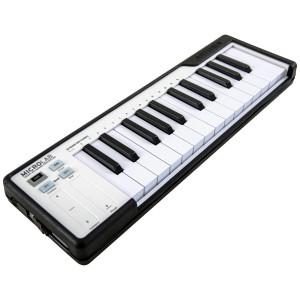 Teclado Controlador MIDI USB 25 Teclas Arturia MicroLab Black angle