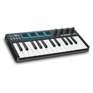 Teclado Controlador MIDI USB 25 Teclas Alesis V Mini angle