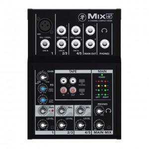 Mezclador Estudio/Directo 5 Canales Mackie Mix5 top