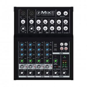 Mezclador Estudio/Directo 8 Canales Mackie Mix8 top