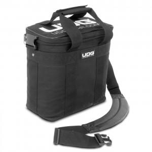 Bolsa para Discos Vinilo UDG Ultimate StarterBag Black / White Logo angle