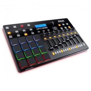 Superfície de Control MIDI USB Akai MPD232 angle