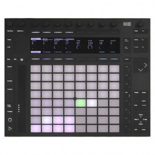 Superfície de Control MIDI USB Ableton Push 2 top