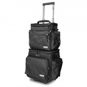 Bolsa-Trolley para Discos Vinilo UDG Ultimate SlingBag Trolley Set DeLuxe MK2 (Black / Orange Inside) top