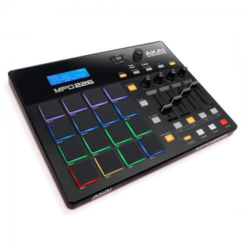 Superfície de Control MIDI USB Akai MPD226 angle