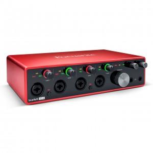 Interface Audio por USB Focusrite Scarlett 18i8 3rd Gen angle