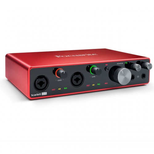 Interface Audio por USB Focusrite Scarlett 8i6 3rd Gen angle
