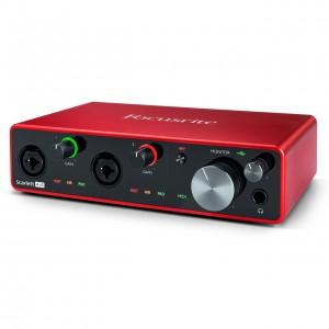 Interface Audio por USB Focusrite Scarlett 4i4 3rd Gen angle