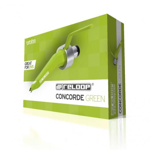 Cápsula tipo Concorde Reloop Concorde Green box