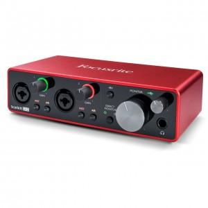 Interface Audio por USB Focusrite Scarlett 2i2 3rd Gen angle