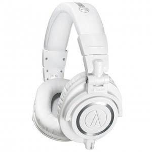 Auriculares Estudio Cerrados Audio-Technica ATH-M50X WH angle