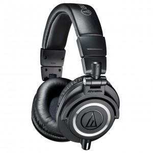 Auriculares Estudio Cerrados Audio-Technica ATH-M50X angle