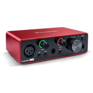 Interface Audio por USB Focusrite Scarlett Solo 3rd Gen angle