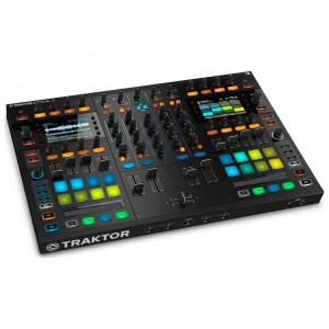 Mezclador-Controlador DJ 4 Canales Native Instruments Traktor Kontrol S8 angle