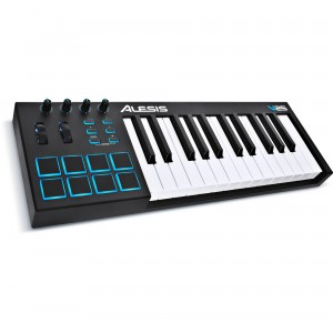 Teclado Controlador MIDI USB 25 Teclas Alesis V25 angle