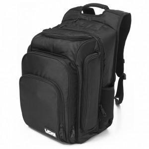 Bolsa-Mochila para Controladores DJ/Controladores MIDI UDG Ultimate DIGI Backpack (Black / Orange Inside) angle