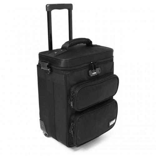 Bolsa-Trolley para Mezcladores/Controladores DJ UDG Ultimate DIGI Trolley To Go (Black / Orange Inside) angle