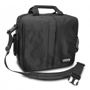 Bolsa para Discos Vinilo/Controladores UDG Ultimate CourierBag DeLuxe (Black) angle