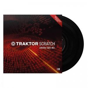 Vinilo de control Native Instruments Traktor Scratch Control Vinyl MK2 (Black)