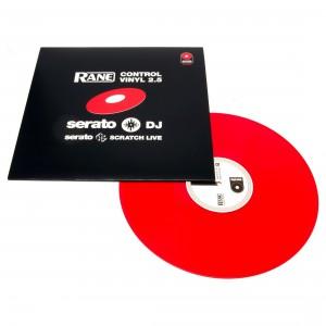 Vinilo de control Rane Serato Scratch Live Control Vinyl (Red)
