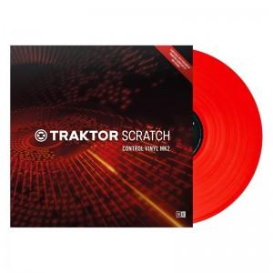 Vinilo de control Native Instruments Traktor Scratch Control Vinyl MK2 (Red)