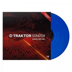 Vinilo de control Native Instruments Traktor Scratch Control Vinyl MK2 (Blue)