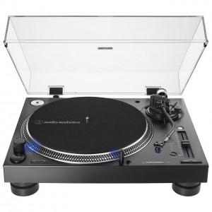 Plato Giradiscos Tracción Directa Audio-Technica AT-LP140XP (Black) front