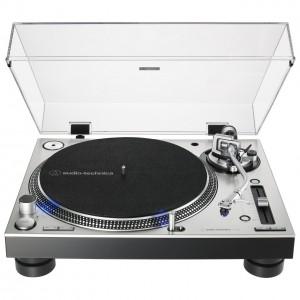 Plato Giradiscos Tracción Directa Audio-Technica AT-LP140XP (Silver) front