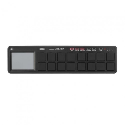 Superficie de Control MIDI USB Korg NanoPad2 Black top