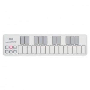 Teclado Controlador MIDI USB 25 Teclas Korg NanoKey2 White top