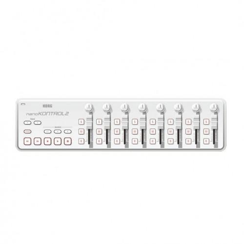 Superficie de Control MIDI USB Korg NanoKontrol2 (White) top