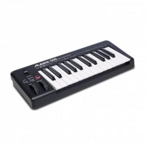 Teclado Controlador MIDI USB 25 Teclas Alesis Q25 angle