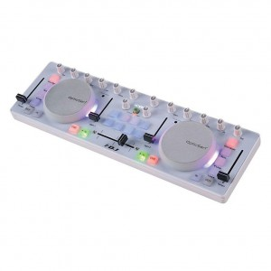 Controlador DJ 2 Canales iCON i.DJ White angle