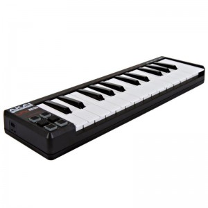 Teclado Controlador MIDI USB 25 Teclas Akai LPK25 angle
