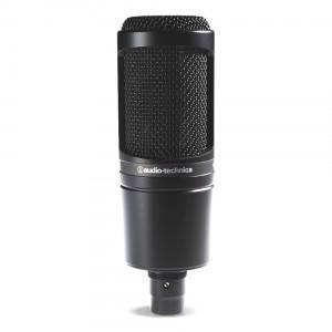 Micrófono de Condensador Estudio Audio-Technica AT2020 top